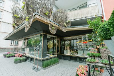 Blütesiegel Frankfurt Ladenlokal Aussen