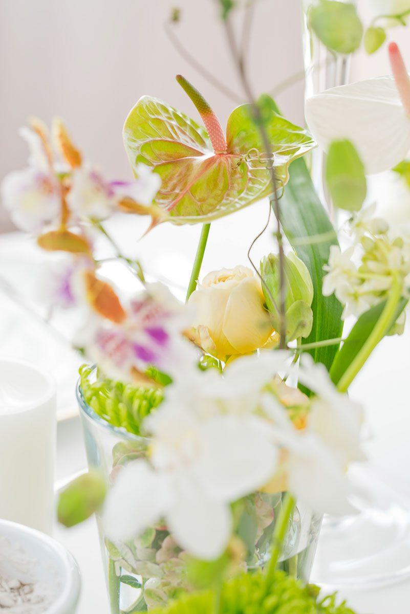 Blumen Werbefotografie Manufakturen Tischkultur
