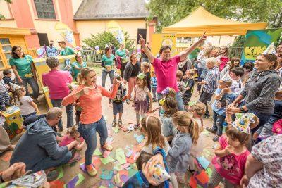 Kika von ARD und ZDF Kikaninchen Monsterparty 2018 von ARD und ZDF