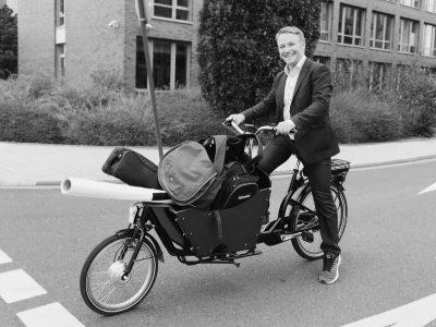 Peter JK Lastenrad mit Fotoequipment