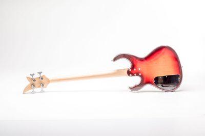 Löwenherz Bass Sunburst Backside