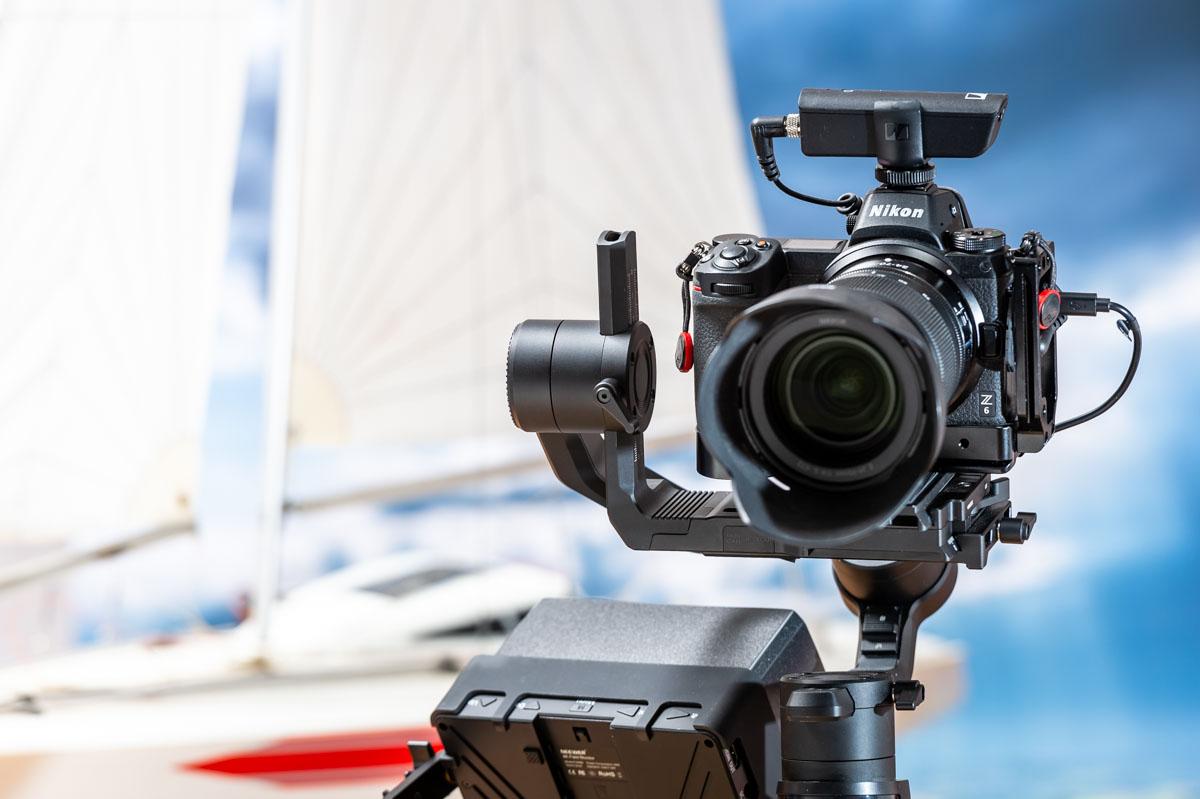 Videokamera auf DSLR Basis